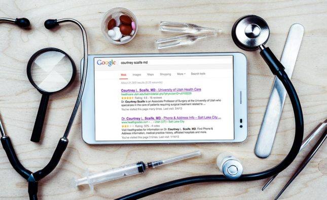 Healthcare Online Reputation Image